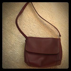 Classic ox blood mini purse